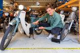 Externe lader elektrische Honda C50