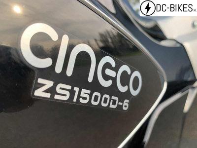 UITVERKOCHT! Cineco E-Classic zwart